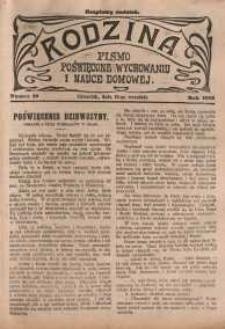 Rodzina, 1912, nr 19