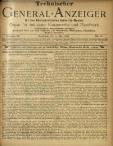 Technischer General-Anzeiger für den Oberschlesischen Industrie-Bezirk, 1897/1898, Jg. 4, No. 16