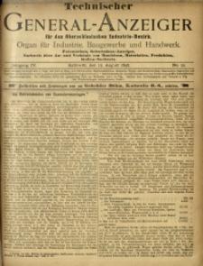 Technischer General-Anzeiger für den Oberschlesischen Industrie-Bezirk, 1897/1898, Jg. 4, No. 22