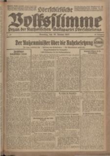 Oberschlesische Volksstimme, 1923, Jg. 49, Nr. 28