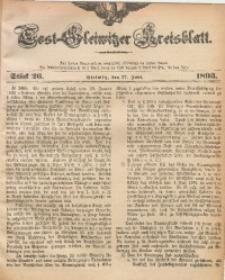 Tost-Gleiwitzer Kreisblatt, 1893, Jg. 51, St. 26