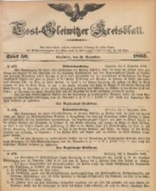 Tost-Gleiwitzer Kreisblatt, 1893, Jg. 51, St. 50