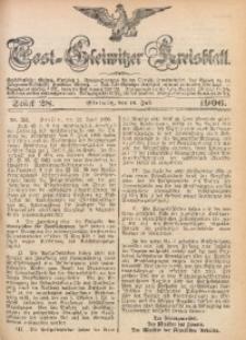 Tost-Gleiwitzer Kreisblatt, 1906, Jg. 64, St. 28