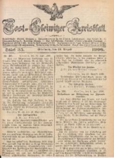 Tost-Gleiwitzer Kreisblatt, 1906, Jg. 64, St. 35