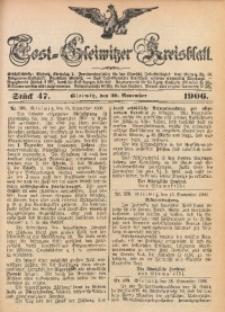 Tost-Gleiwitzer Kreisblatt, 1906, Jg. 64, St. 47