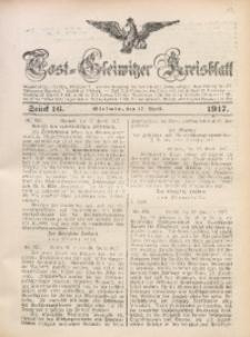 Tost-Gleiwitzer Kreisblatt, 1917, Jg. 75, St. 16