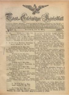 Tost-Gleiwitzer Kreisblatt, 1918, St. 11