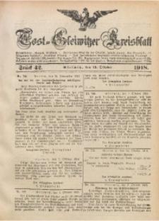 Tost-Gleiwitzer Kreisblatt, 1918, St. 42
