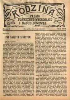 Rodzina, 1916, nr 1