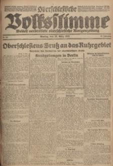Oberschlesische Volksstimme, 1923, Jg. 49, Nr. 83