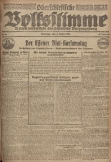 Oberschlesische Volksstimme, 1923, Jg. 49, Nr. 90