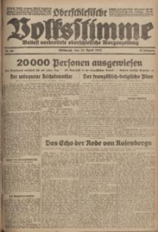 Oberschlesische Volksstimme, 1923, Jg. 49, Nr. 105