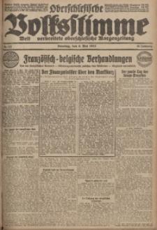 Oberschlesische Volksstimme, 1923, Jg. 49, Nr. 123