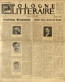 Pologne Littéraire, 1928, A. 3, Nr. 21