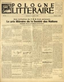 Pologne Littéraire, 1931, A. 6, Nr. 61