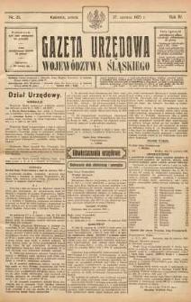 Gazeta Urzędowa Województwa Śląskiego, 1925, R. 4, nr 23