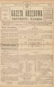 Gazeta Urzędowa Województwa Śląskiego, 1925, R. 4, nr 25