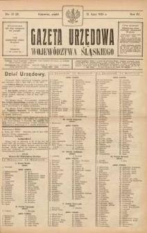 Gazeta Urzędowa Województwa Śląskiego, 1925, R. 4, nr 27-28