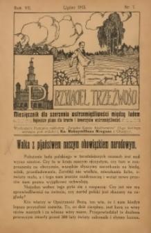 Przyjaciel Trzeźwości, 1913, R. 7, nr 7