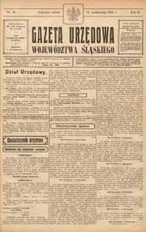Gazeta Urzędowa Województwa Śląskiego, 1925, R. 4, nr 36