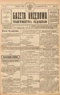 Gazeta Urzędowa Województwa Śląskiego, 1925, R. 4, nr 37