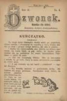 Dzwonek, 1912, R. 19, nr 4