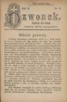 Dzwonek, 1912, R. 19, nr 8