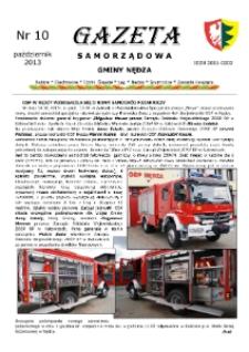 Gazeta Samorządowa Gminy Nędza 2013, nr 10.