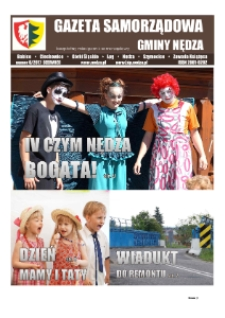 Gazeta Samorządowa Gminy Nędza : bezpłatny miesięcznik samorządowy 2017, nr 6.