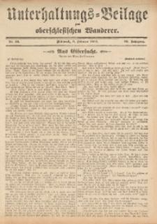 Unterhaltungs-Beilage zum Oberschlesischen Wanderer, 1909, Jg. 82, Nr. 26