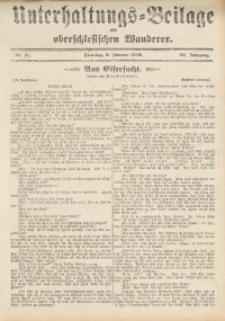 Unterhaltungs-Beilage zum Oberschlesischen Wanderer, 1909, Jg. 82, Nr. 31