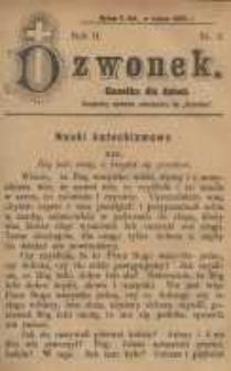 Dzwonek, 1895, R. 2, nr 2
