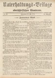 Unterhaltungs-Beilage zum Oberschlesischen Wanderer, 1909, Jg. 82, Nr. 121