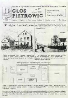 Głos Pietrowic : gazeta lokalna gminy Pietrowice Wielkie. Nr 17.