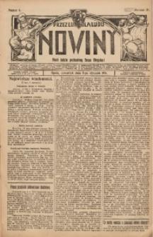 Nowiny, 1914, R. 4, nr 4