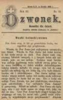 Dzwonek, 1896, R. 3, nr 12