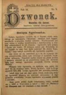 Dzwonek, 1909, R. 16, nr 2