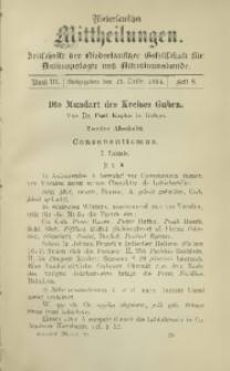 Niederlausitzer Mittheilungen, 1893/1894, Bd. 3, H. 8