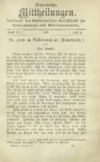 Niederlausitzer Mittheilungen, 1899/1901, Bd. 6, H. 8