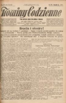 Nowiny Codzienne, 1924, R. 14, nr 274