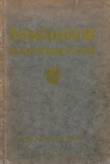Verwaltungsbericht der Stadt Grünberg in Schlesien vom 1. April 1926 bis 31. März 1930