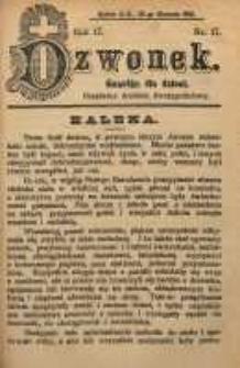 Dzwonek, 1910, R. 17, nr 17
