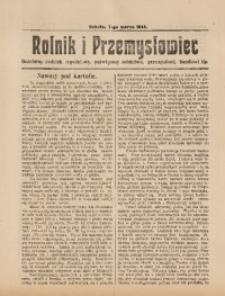 Rolnik i Przemysłowiec, 7 marca 1914