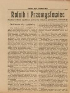 Rolnik i Przemysłowiec, 6 czerwca 1914