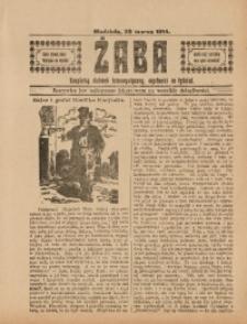 Żaba, 29 marca 1914