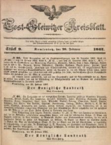 Tost-Gleiwitzer Kreisblatt, 1867, Jg. 25, St. 9