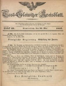 Tost-Gleiwitzer Kreisblatt, 1867, Jg. 25, St. 21