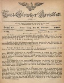 Tost-Gleiwitzer Kreisblatt, 1867, Jg. 25, St. 47