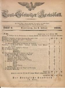 Tost-Gleiwitzer Kreisblatt, 1868, Jg. 26, St. 6