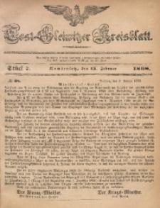 Tost-Gleiwitzer Kreisblatt, 1868, Jg. 26, St. 7